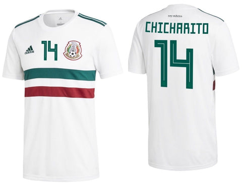 Adidas Chicharito Mexico Away Jersey 2018 BQ4689