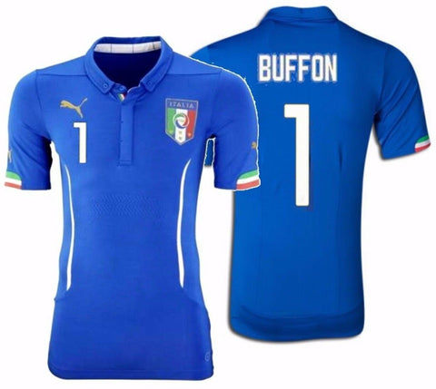 PUMA GIANLUIGI BUFFON ITALY AUTHENTIC HOME JERSEY FIFA WORLD CUP 2014 1