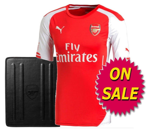 designer fashion f6aac 14573 PUMA ARSENAL AUTHENTIC PLAYERS MATCH HOME JERSEY 2014/15 ON SALE.