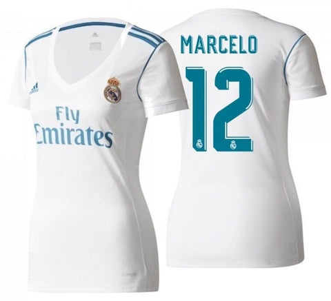 Adidas Marcelo Real Madrid Women's Home Jersey 2017/18 B31110