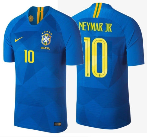 NIKE NEYMAR JR. BRAZIL VAPOR MATCH AWAY JERSEY FIFA WORLD CUP 2018 1