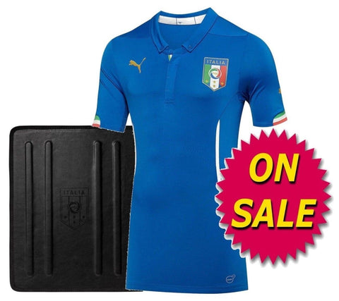 PUMA ITALY AUTHENTIC PLAYERS HOME JERSEY FIFA WORLD CUP 2014