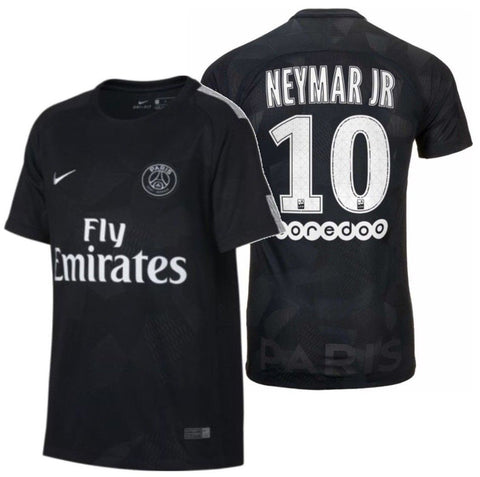 NIKE NEYMAR JR PSG PARIS SAINT-GERMAIN YOUTH THIRD JERSEY 2017/18 1