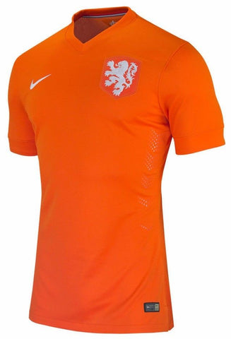 official photos 0dbc3 7971d NIKE MARCO VAN BASTEN NETHERLANDS AUTHENTIC HOME JERSEY WORLD CUP 2014