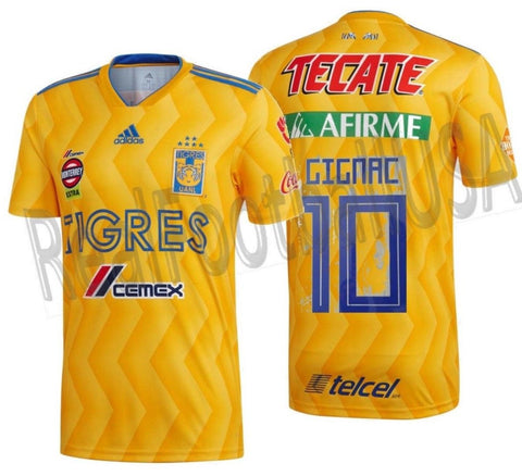 ADIDAS ANDRE-PIERRE GIGNAC TIGRES UANL HOME JERSEY 2018/19 1