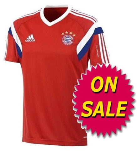 ADIDAS BAYERN MUNICH TRAINING JERSEY 2