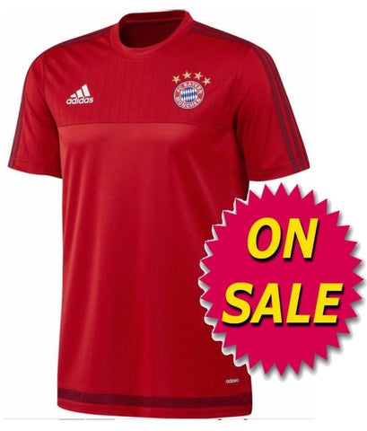 ADIDAS BAYERN MUNICH TRAINING JERSEY SALE
