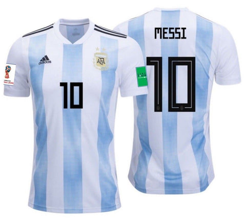 Adidas Messi Argentina Home FIFA Jersey 2018 BQ9324