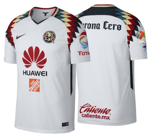 NIKE CLUB AMERICA AWAY JERSEY 2017/18 LIGA MX PATCH.