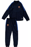 NIKE FC BARCELONA SQUAD YOUTH WOVEN TRACKSUIT Obsidian/Royal 1