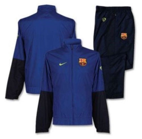 NIKE FC BARCELONA WOVEN WARM UP TRACKSUIT