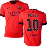 NIKE LIONEL MESSI FC BARCELONA AWAY YOUTH JERSEY 2014/15 1
