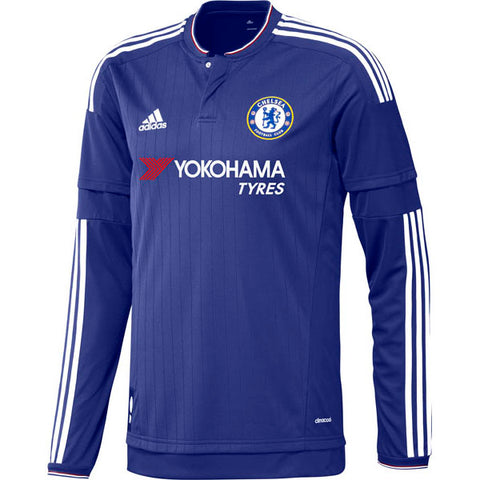 Adidas Chelsea Long Sleeve Home Jersey 2015/16 S11676