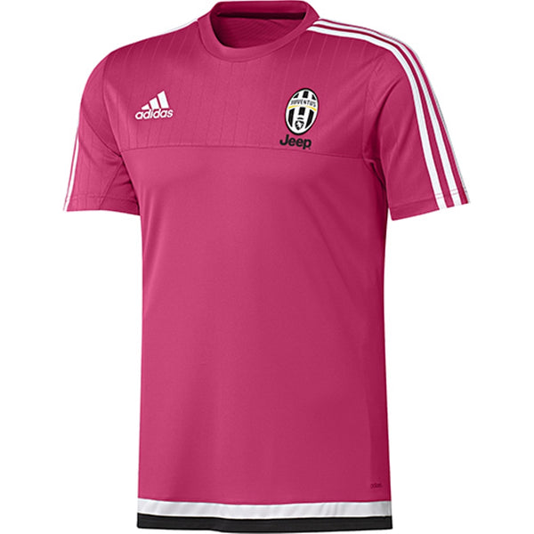 reputable site 26f87 69e0e ADIDAS JUVENTUS TRAINING JERSEY Pink/Black.