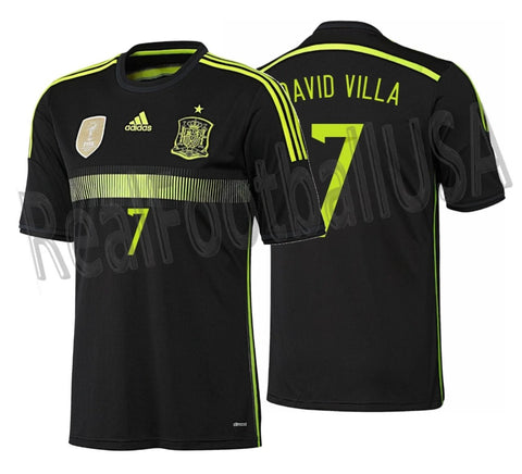 ADIDAS DAVID VILLA SPAIN AWAY JERSEY FIFA WORLD CUP 2014 0