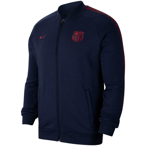 NIKE FC BARCELONA FLEECE TRACK JACKET 2019/20 2