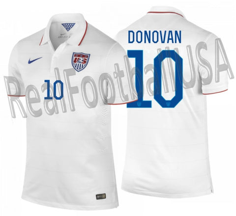 NIKE LANDON DONOVAN USMNT USA AUTHENTIC MATCH HOME JERSEY FIFA WORLD CUP 2014 1