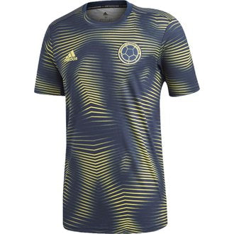 ADIDAS COLOMBIA PRE MATCH JERSEY 2019.