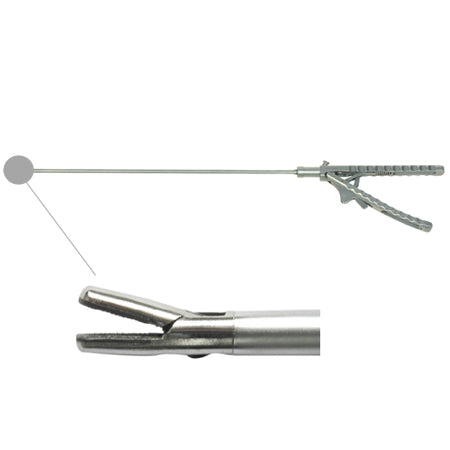 Laparoscopic needle holder Straight tip (V handle)