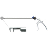Laparoscopic clip applier for titanium clips