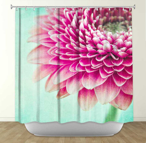 DiaNoche Designs Colorful Spring by Iris Lehnhardt Fabric Shower Curtain