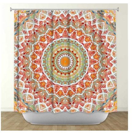 Shower Curtain with Pattern, bold patterned shower curtains ...