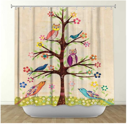 DiaNoche Designs Owl Bird Tree 2 by Sascalia