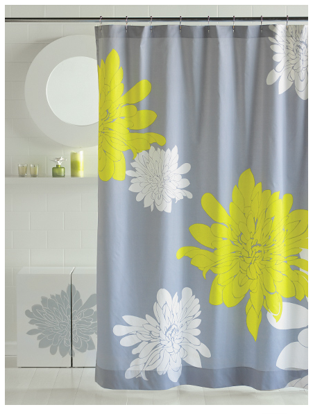 Blissliving Home ASHLEY CITRON SHOWER CURTAIN