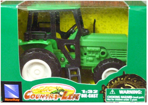 Die-Cast Tractor (Green)