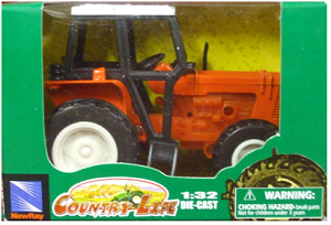 Die-Cast Tractor (Orange)