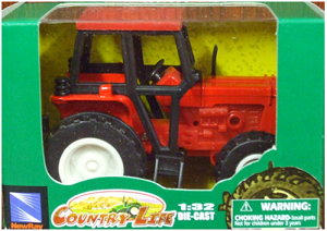 Die-Cast Tractor (Red)