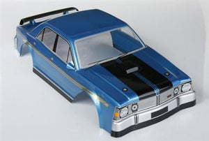 1:10 Ford Falcon XY GTHO PHASE III - Body Shell - Electric Blue