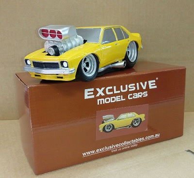 1:18 LH Torana (Yellow) - Resin Model Car