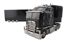 Load image into Gallery viewer, 1:32 Kenworth K200 + A & B Trailers (Black)