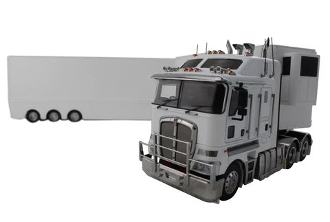 1:32 Kenworth K200 + A & B Trailers (Snow White)