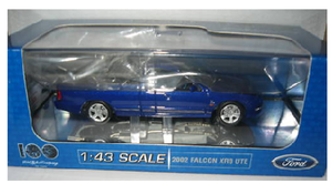 1:43 Ford Falcon XR8 Ute 2002 (Narooma Blue)