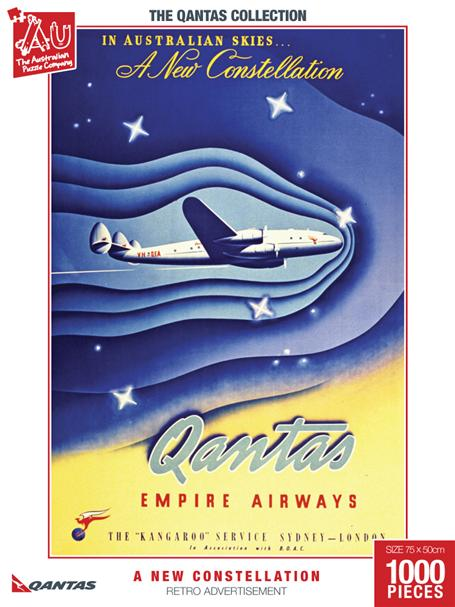 A New Constellation Retro Advertisement