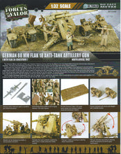 Load image into Gallery viewer, 1:32 German Krupp Flak 36 with Flak Rohr 18 gun barrel & sd. 202 tow vehicle