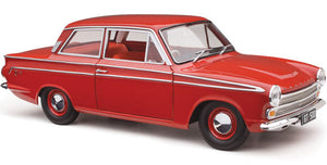 1:18 Ford Cortina Gt 500 Red Satin