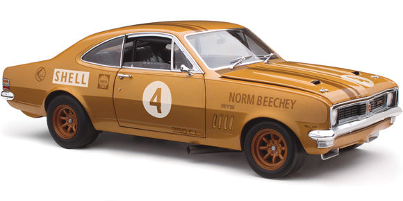 1:18 Holden HT Monaro 1970 ATCC Winner 50th Anniversary GOLD livery
