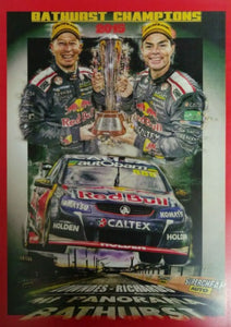 Bathurst Champions 2015 Lowndes - Richards A3 Poster