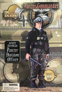 1:6 WW2 German Panzer Division Officer - Panzer Commander