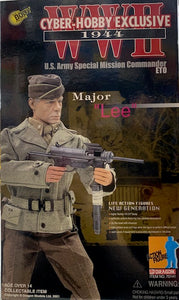 "1:6 WW2 1944 Major ""Lee"""