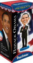 Load image into Gallery viewer, Royal Bobbles - Barack Obama Bobblehead