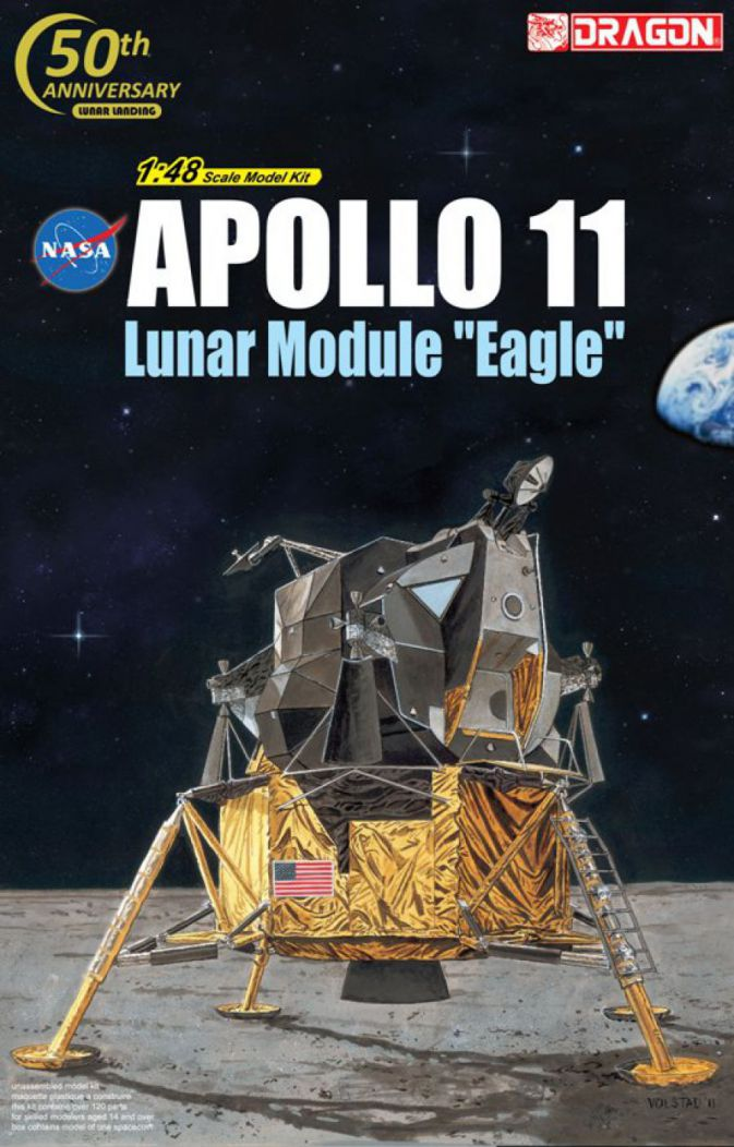 Dragon Models Apollo 11 #11008 1:48