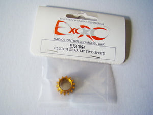 EXC086 - Clutch Gear 14T Two Speed