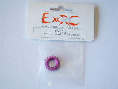 EXC089 - Clutch Gear 17T Two Speed