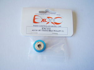 EXC132 - Aluminium 18T Timing Belt Pullet (1)