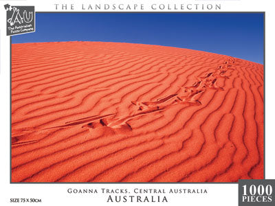 Goanna Tracks, Simpson Desert, WA, 1000pc