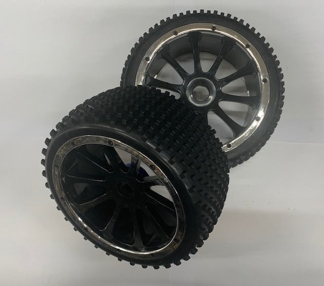 1:5 Rear Wheel and Tyre Pair - Complete